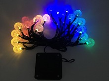 30 leds bubble ball christmas light string ,home sense string light ,strobe light home sense string light
