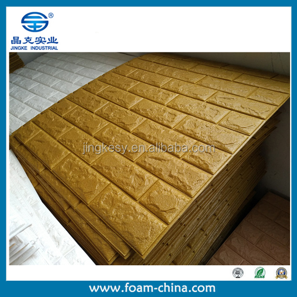 PE foam cushion wallpaper Textured PE foam cushion wallpaper decoration PE foam cushion wallpaper
