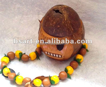 100%nature coconut fashion design gifts