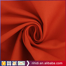 cheapest orange overall uniform material twill 100 cotton dyed fabric