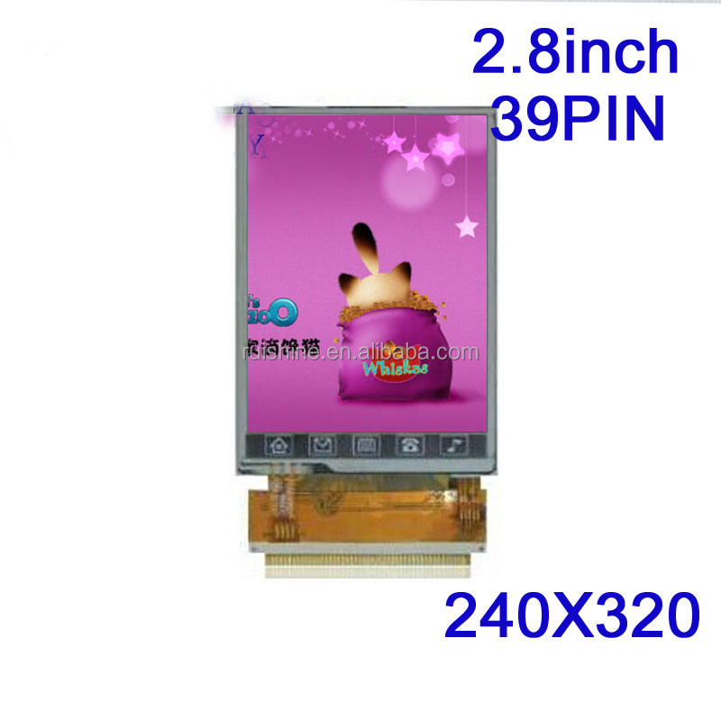 2.8 inch TFT IPS LCD module with Multi-touch point capacitive touch panel