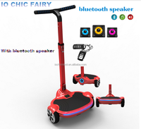 6.7inch IO CHIC electrical self balancing scooter smart boards with 300W*2 motor