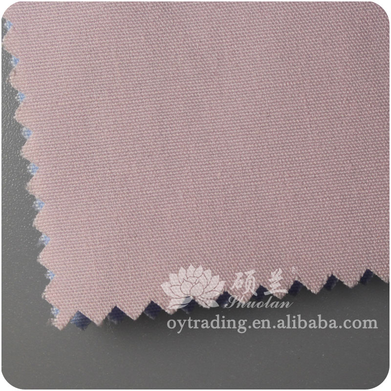 Shrink-resistant 100% cotton poplin fabric for garment lining
