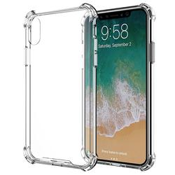 Good quality transparent TPU PC clear hybrid bumper case for iphone x new , phone case for iphone x