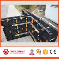 2017 High quality circular plastic plywood formwork for concrete