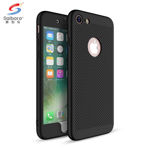 360 full protective Heat resistant free sample blank phone case for i phone7 case pc case for iphone7 8