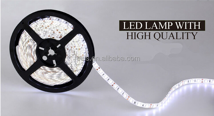 high lumens flexible non waterproof ip20 5 meter rgb led strip