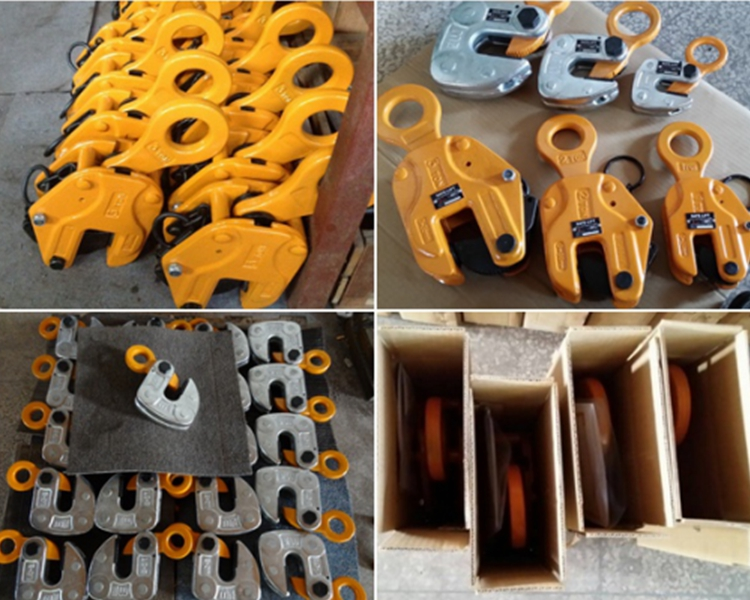 ALLMAN low carbon alloy steel CD model universal lifting clamp