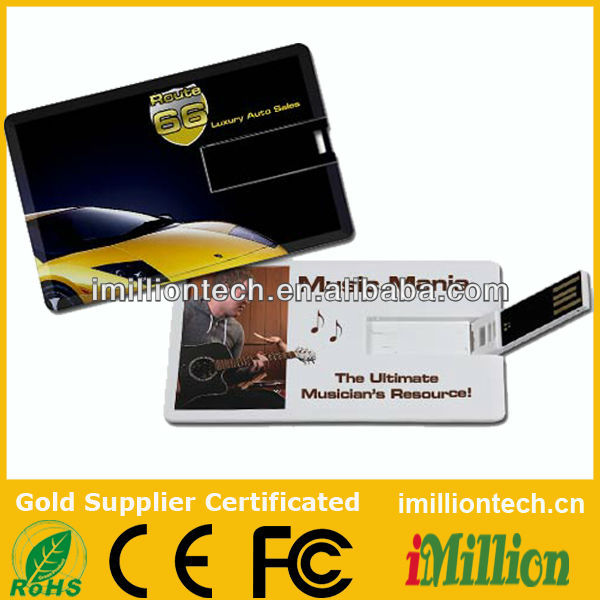 real capacity usb card , credit card usb <strong>flash</strong> , slim card pendrive