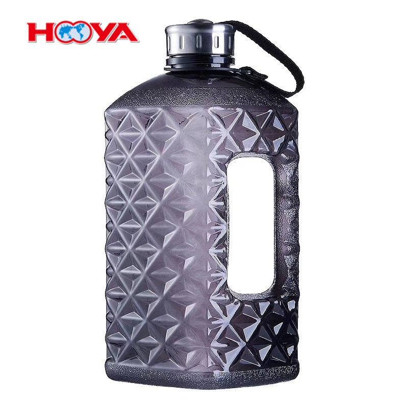 Promotional Gift Cheap Clear Plastic 2.2L Litre New Fashion Dumbbell Water Bottle