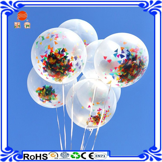 12 Inch Big Transparent Latex Balloons For Party Supplies Wedding Decoration