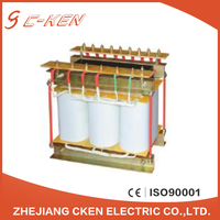 Cken 2016 China 380V 70KVA SG SBK Series Three Phase Dry Type Transformer , 3 Phase Transformer