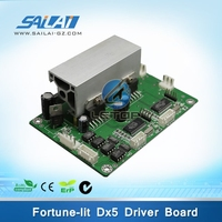 Hot sales! Fortune-lit inkjet printer dx5 printhead servo motor control driver board