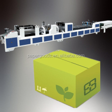 2016 Hot Selling HX-GAP Full Automatic corrugated box making largest us corrugated box manufacturers