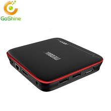M8S Pro W Amlogic S905W Quad Core 2.4G Wifi Kodi 17.0 Android 7.0 Tv Box