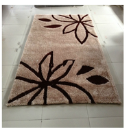 good quality hand knotted 3D cut pile shaggy carpets and rugs