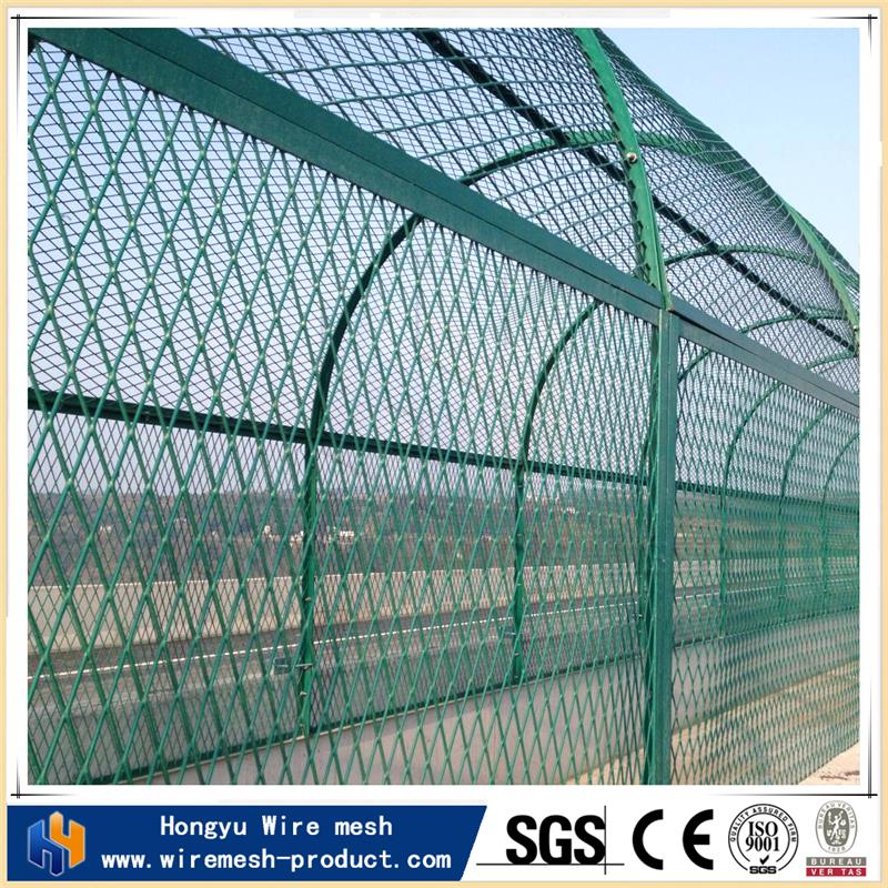stainless steel diamond mesh expanded metal grill grates wire mesh fence