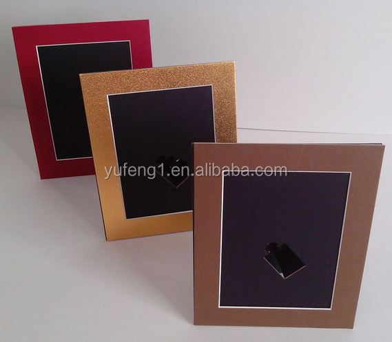 bulk wholesale table standing and wall hanging paper photo frame 4x6 5x7 6x8 8x10
