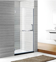 Hinge door bath shower screen