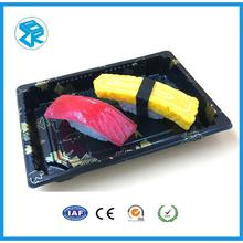 secure take-out disposable packaging sushi trays