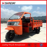 2015 New Products Made in China High Quality Truck Cargo Tricycle With Cabin