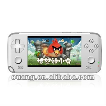 4.3 inch touch game console AS-903 32 bit game cartridge with Camera 3.0MP interpolated resolution