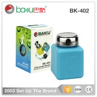 BAKU mini size BK 402 Remover esd Alcohol Liquid Press Pumping Dispenser Bottle