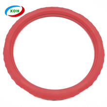 New stylish durable eco friendly silicone car steering wheel cover Amazon sells products
