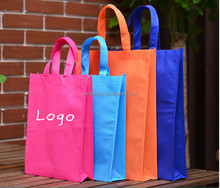 Lowest Cost Custom Non-Woven Grocery non woven bag Plastic Promotional Bag non woven shopping bag With Logo