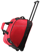 high quality travel trolley luggage bag
