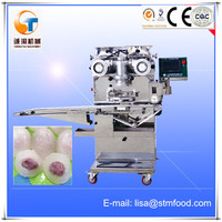 High quality Crystal steam stuffed bun Encrusting Machine