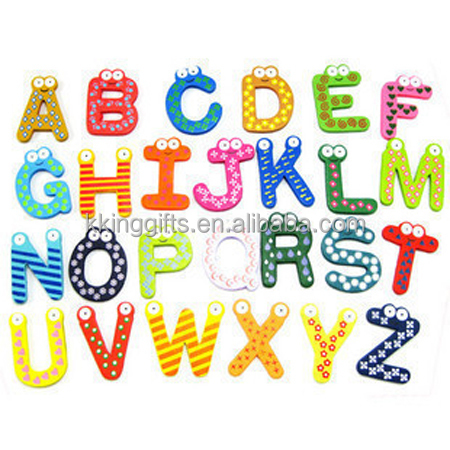 Promotional Custom Soft PVC Rubber Letters Numbers Fridge Magnet