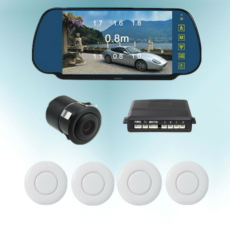 bluetooth reverse camera rearview mirror