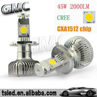 cree chip led headlight bulb for motorcycles