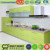 Small coloeful laminate kitchen cabinet with best material for modular kitchen