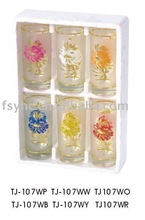10 OZ Bronzing Glass Tumblers