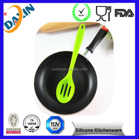 Non-stick, Heat Resistant Silicone Cooking Set Slotted Cooking Spoon