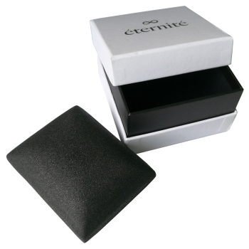 custom lid and base deep black printing paper watch box and cardboard watch box for watch box packaging with hot stamping