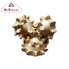 8 1/2'' API sealed bearing steel tooth tricone drill bit and milled tooth tricone drilling bit with mining and oil well