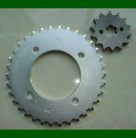 Dajin C45S motorcycle rear and front sprocket C100BIZ