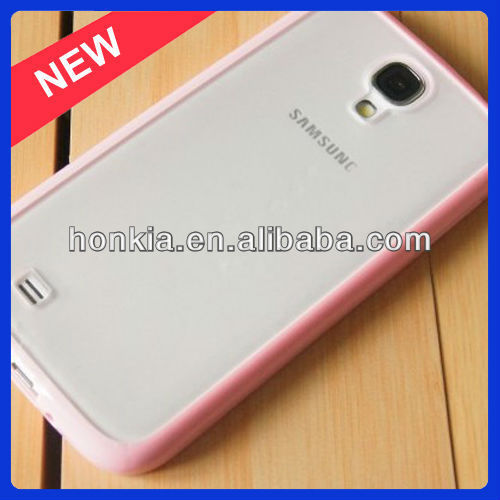 PC and TPU mobile phone case for samsung S4 case for samsung i9500