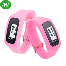 Factory Directly Supply Silicone Digital Wrist Pedometer