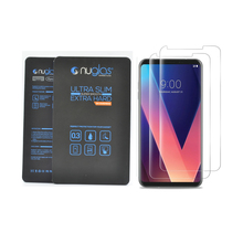 New innovative Nano hydrophobic and oleophobic coating cell phone screen protector glass for LG V30