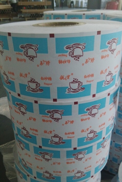 kraft / craft paper packaging materials for candy/coffee/sugar rolls