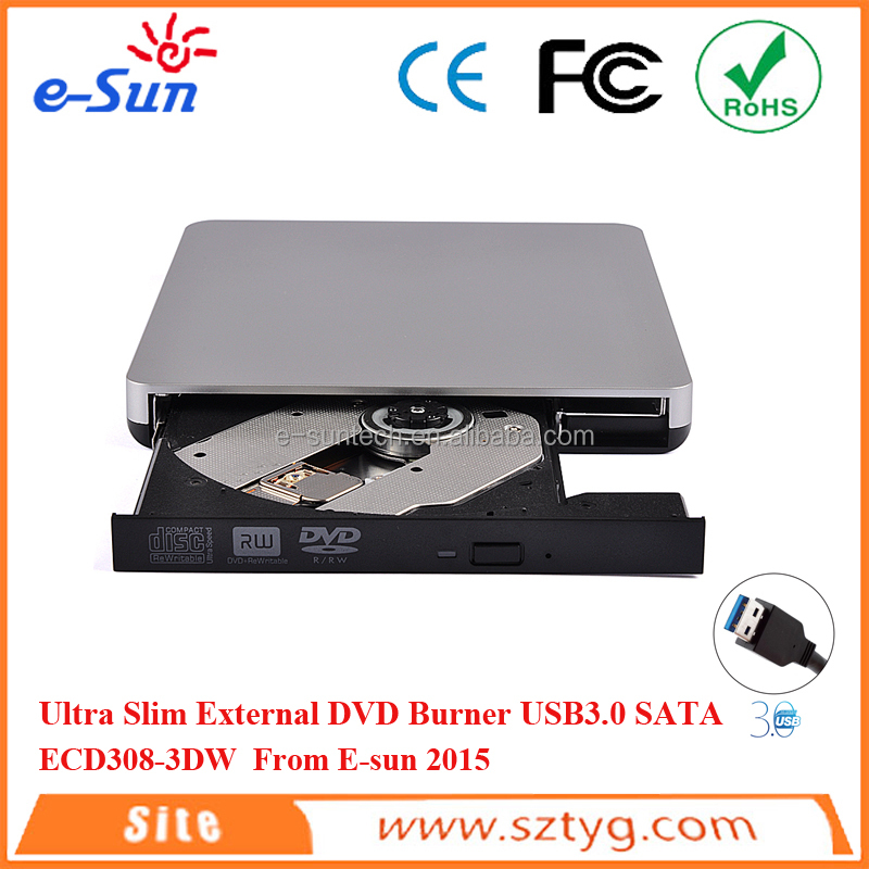 Hot selling External USB3.0 DVD with SATA Interface mini laptop with dvd drive/dvd burner/dvd drive DVDRW/CDRW/DVDROM/COMBO