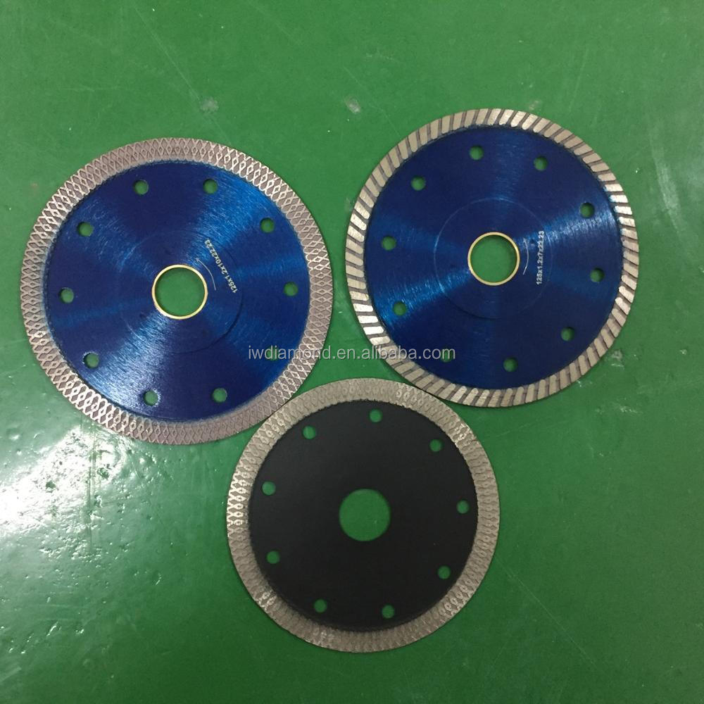 "125mm 5"" Turbo Diamond Cutting Discs Saw Blade Disk Marble Tile Ceramic"