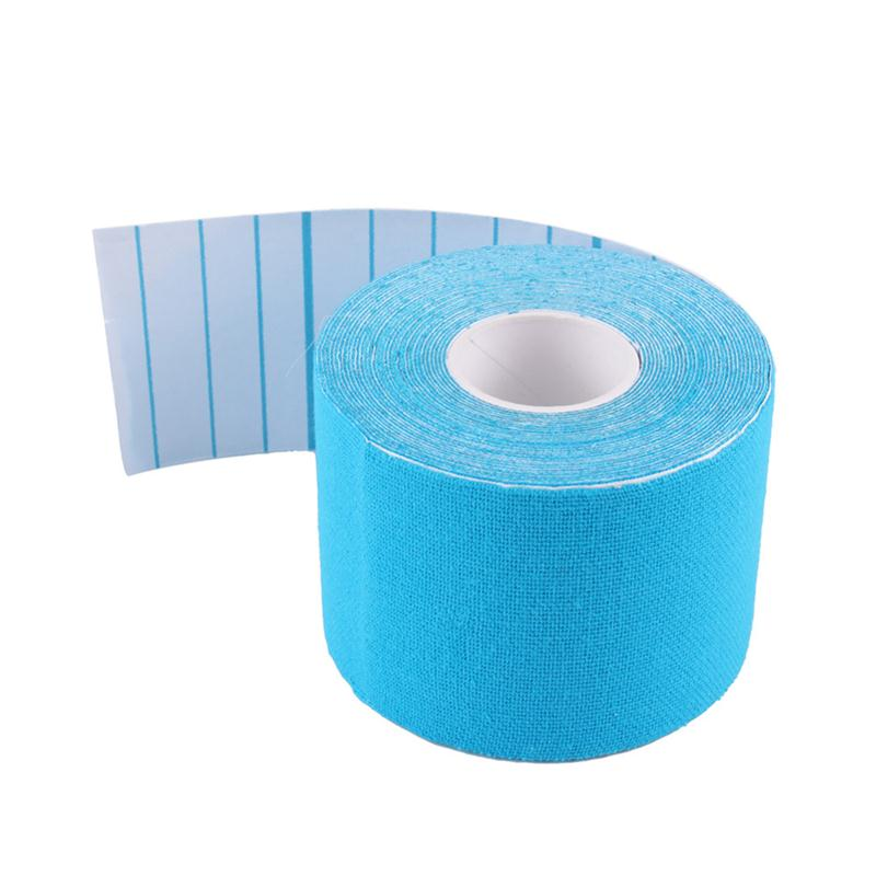 160%-180% stretch high quality kinesiology tape sports tape 5cm*5m 38mmx13.7m sports medical shoulder straps