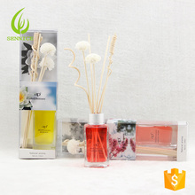 100 ML aroma reed diffuser set mit rattan-sticks verwenden in home office