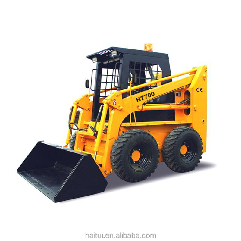 HAITUI brand new 700kg Skid Steer Loader with low price