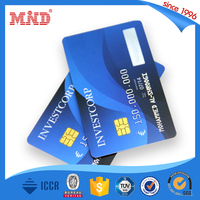 MDC174 Full color offset printing rfid Contact IC proximity card with SLE4442/SLE4428 chips for access